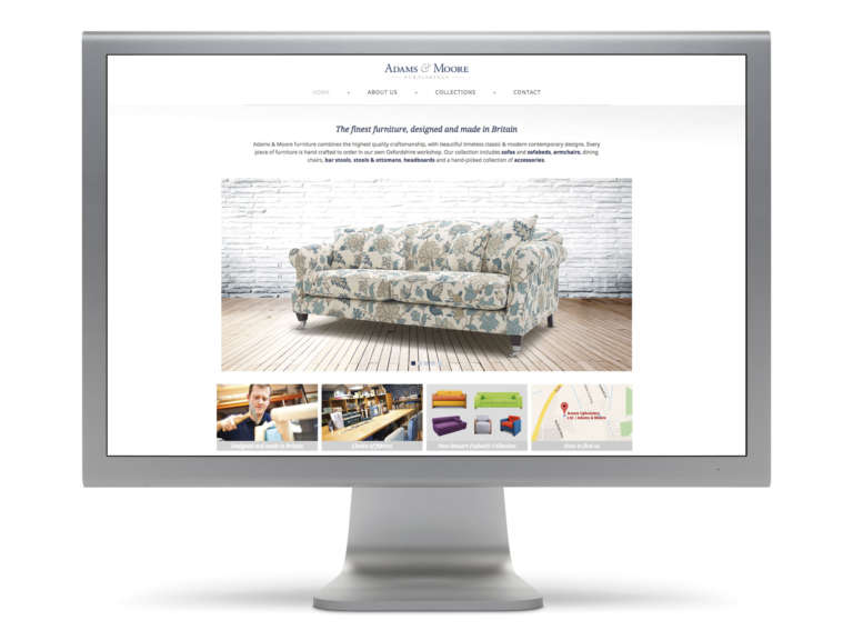 Website design for Adams & Moore