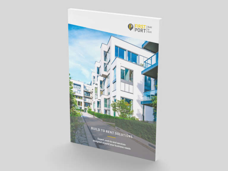 FirstPort brochure design