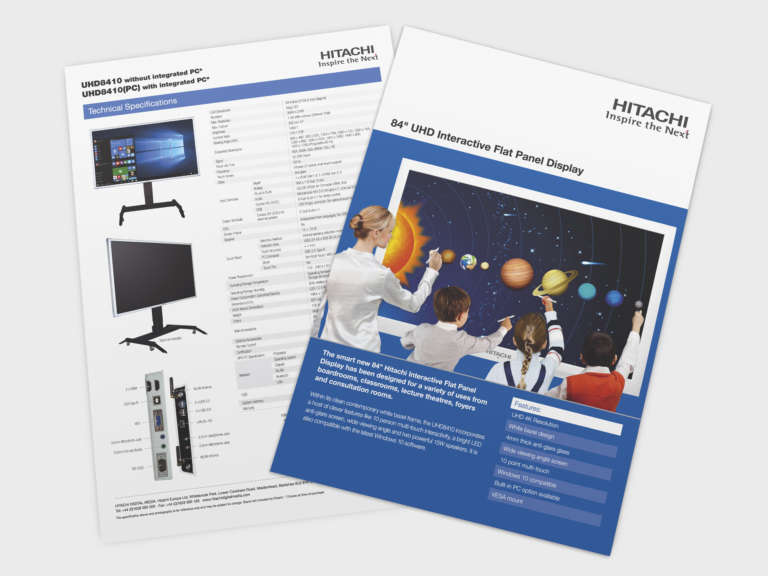 Datasheet design for Hitachi