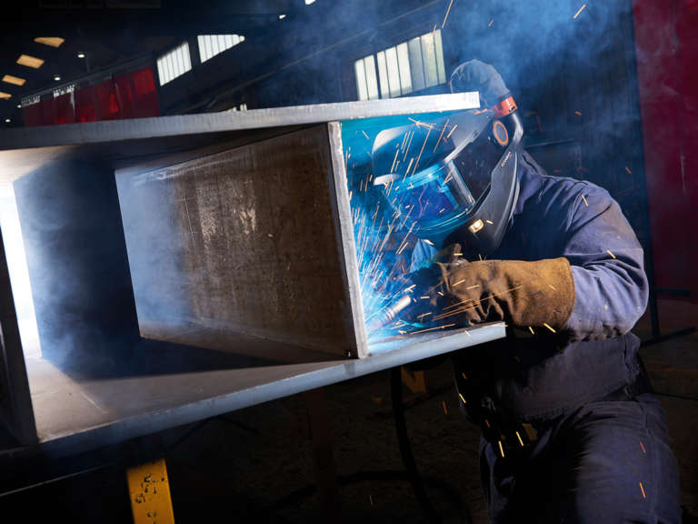 Location photography for Kemppi Welding
