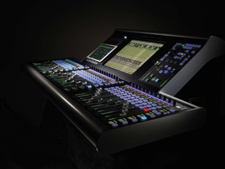 Solid State Logic Live L200 product photography