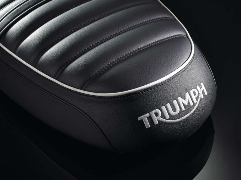 Studio product photography for Triumph Motorcycles