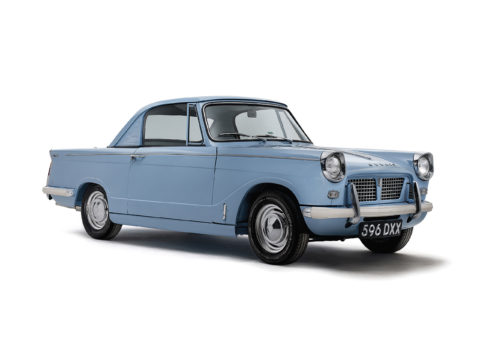 1962 Triumph Herald classic car studio photography