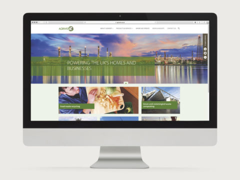 Agrivert responsive website design