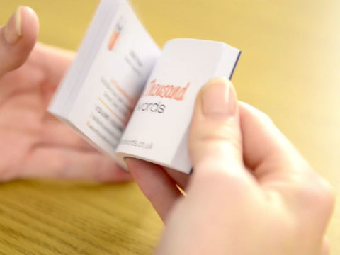 Avery business card pads promotional video production