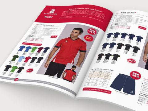 Chiltern Leisure Multi-Sport catalogue design