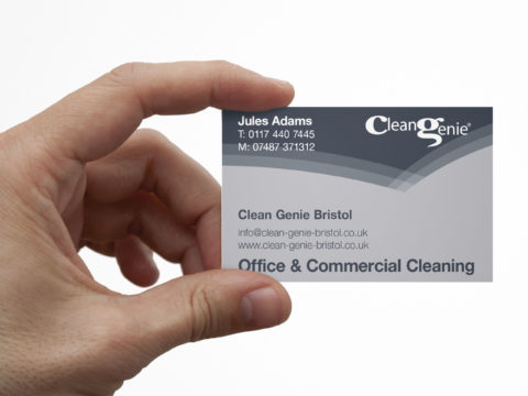 Clean Genie corporate identity