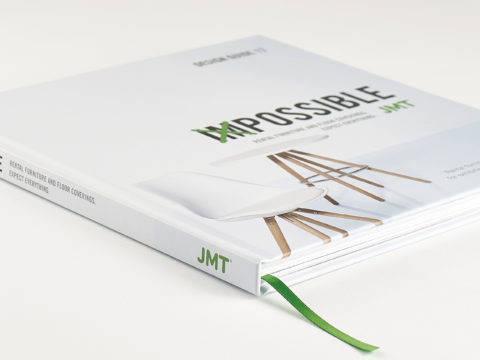 Catalogue and brochure production for JMT
