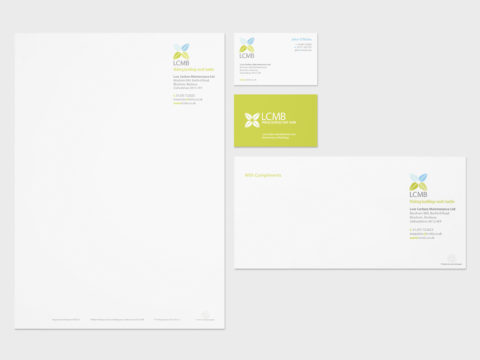 Low Carbon Maintenance Limited corporate identity