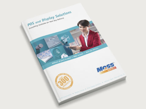 Moss Express POS catalogue design