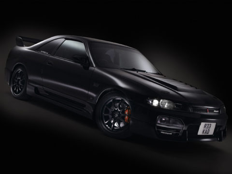 Nissan R33 Spec 2 GTS-25t Skyline car studio photography