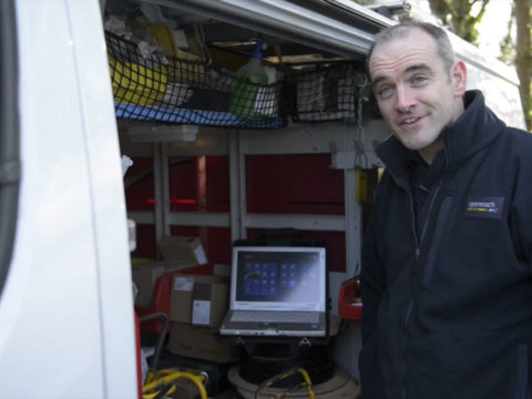 Panasonic Toughbook Openreach case study video production