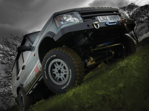 Terrafirma Land Rover Discovery accessories location photography