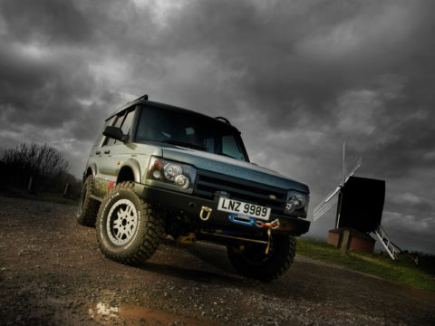 TerraFirma 4x4 accessories video production