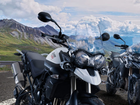 Triumph Tiger accessories video production