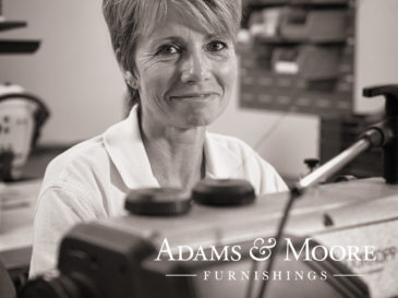 Adams & Moore corporate identity and logo design