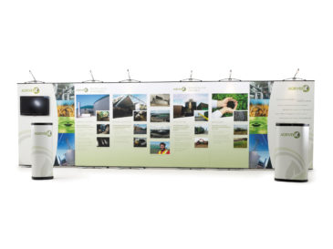 Exhibition panels design for Agrivert