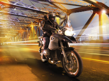 BMW GS 1200 motorcycle studio composite photography