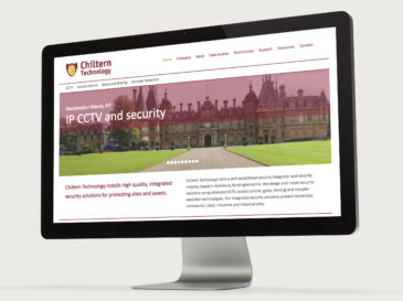 Chiltern Technology website design