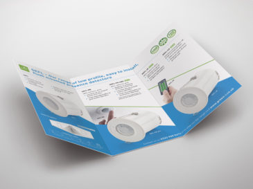 CP Electronics Green-i leaflet design