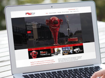 Redcop responsive website design