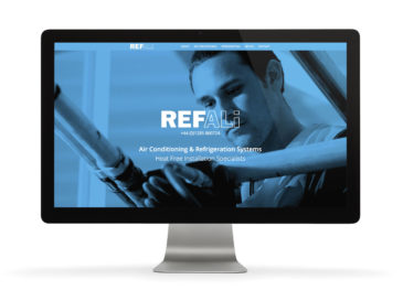 Refali responsive website design