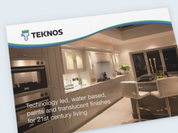 Postcard design for Teknos