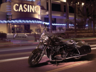 Triumph Thunderbird Commander motorcycle composite photography